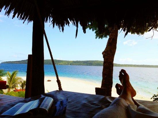 The Havannah, Vanuatu: Fell asleep on the swinging day bed often!