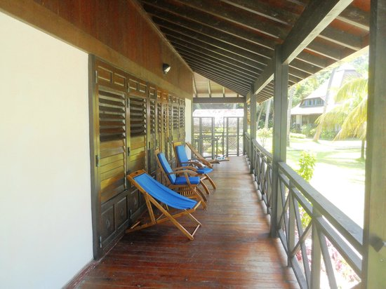 New Emerald Cove: La veranda