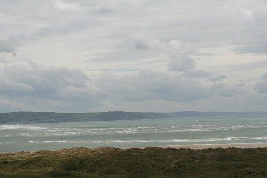 Trefeddian Hotel: view