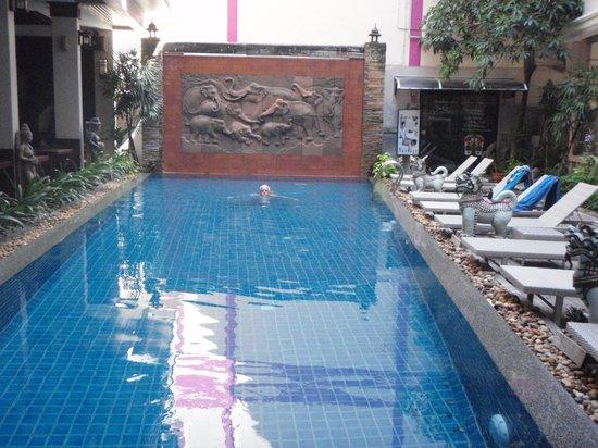 Seeka Boutique Resort : The Sparkling Pool