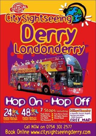 City Sightseeing Derry Tour 2018 All You Need to Know Before You