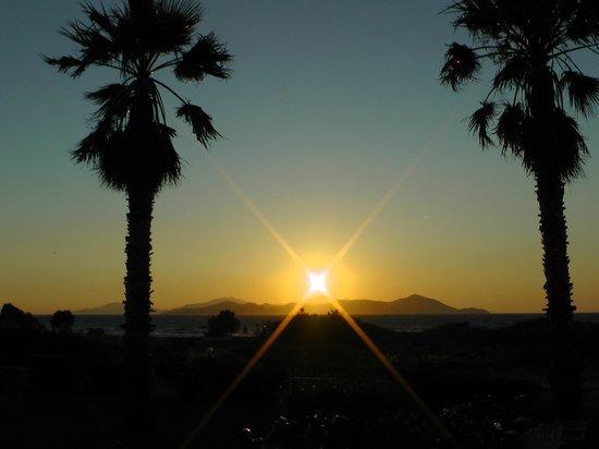 Costa Angela: Sonnenuntergang, von der Hotel-Terrasse aus