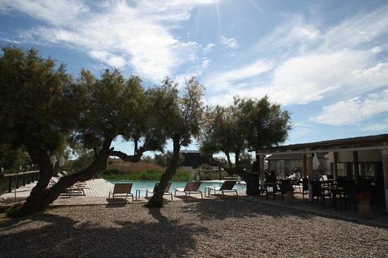 Hotel Les Arnelles : les Arnelles view