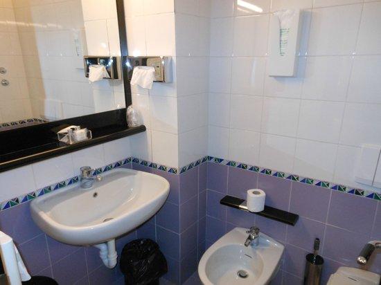 Hotel Valentino du Parc : Bagno