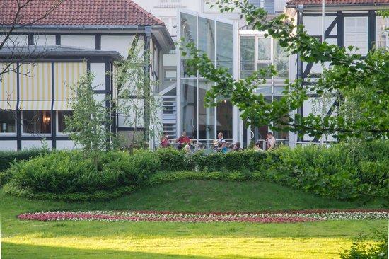 Quality Hotel Vital zum Stern: ingang achterzijde hotel