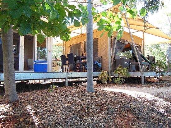 Coconutz Bed & Breakfast: Our private Coconutz escape