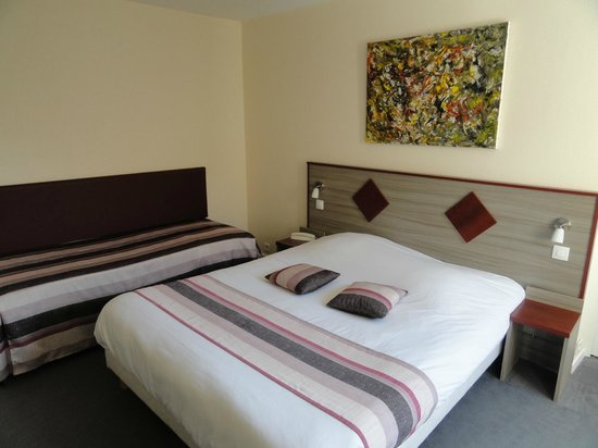 Au Site Normand Hotel-Restaurant : Chambre 19