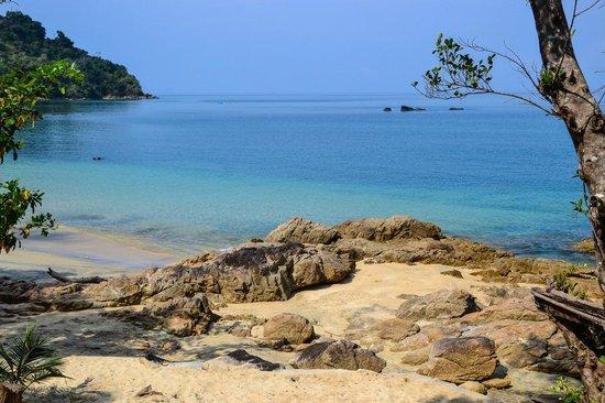 Resort Sawasdee: Beach 300m near sawasdee
