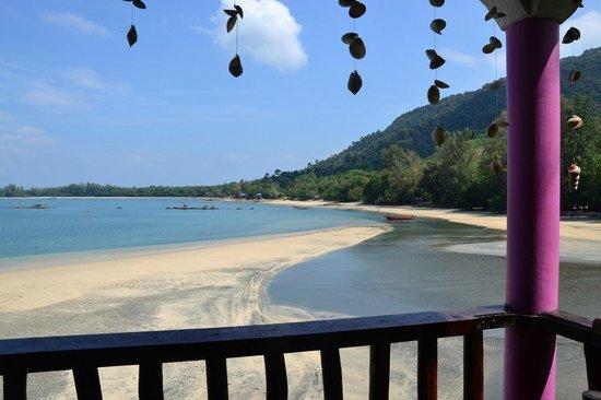 Resort Sawasdee: View from hill restaurant