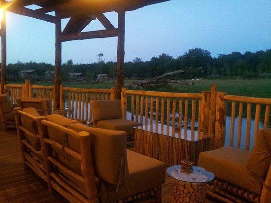 Les Lodges du PAL : Restaurant/Bar