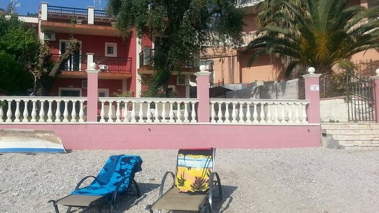 Corfu Sun Apartments: plage