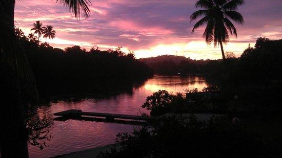 Vila Chaumieres : Sunset