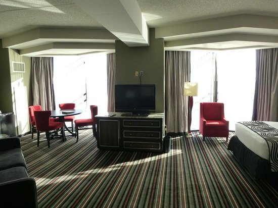 Hard Rock Hotel and Casino Tulsa: Unsere schöne Suite!