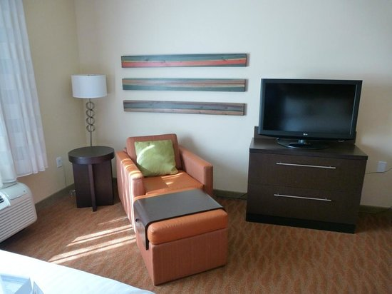 TownePlace Suites San Antonio Downtown: Schickes, modernes Zimmer!
