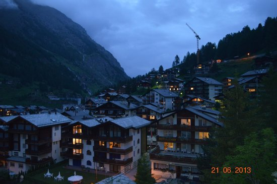 Hotel Holiday: View from balcony