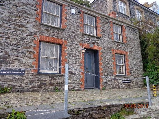 Doc Martins House Picture Of Port Isaac Cornwall