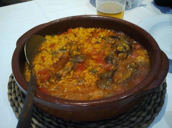 Taperia El Arenal : arroz caldoso