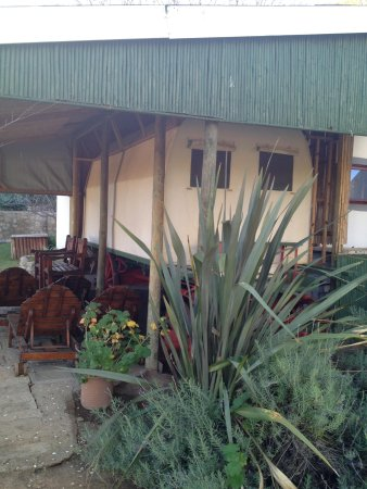 Die Gat Guest House: The Ox wagon room