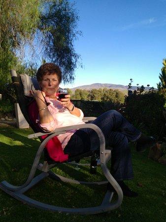 Die Gat Guest House: Sundowners at Die Gat