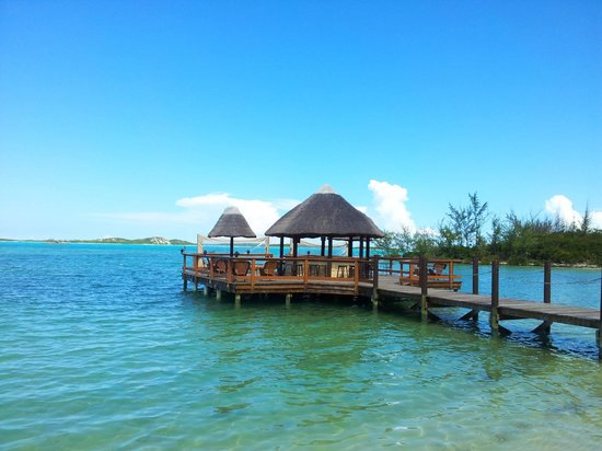 Augusta Bay Bahamas: vista desdela puerta