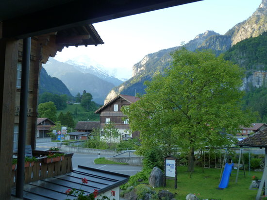 View from the balcony of Hotel Heimat