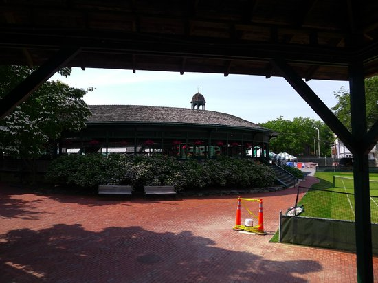International Tennis Hall of Fame: Viewing gallery