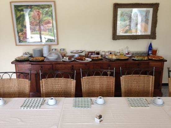 Agriturismo Palmero: Super breakfast!