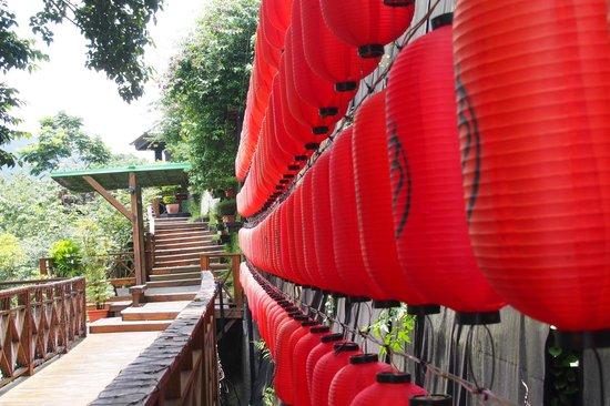 Tangyue Hot Springs Resort: Japanese decor