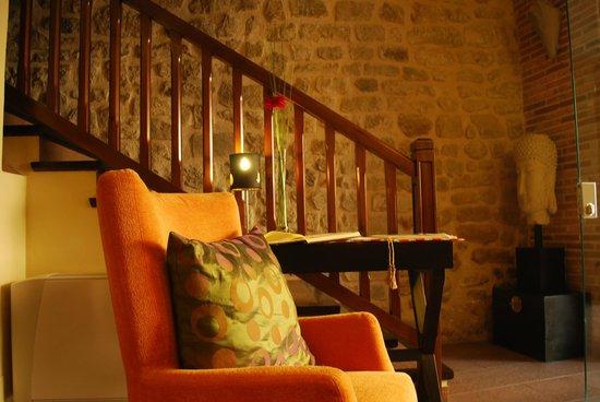 Hotel Villa de Cretas : Recepcion