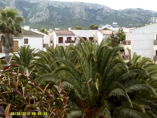 Albir Garden Resort: veiw from balcany
