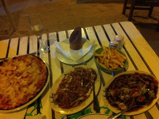 Kaz Kreol Restaurant & Beach Club : Great pizza