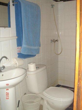 Hotel La Gazelle : salle de bain chambre