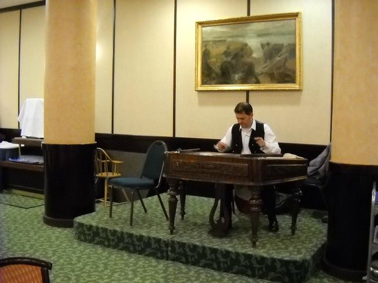 Hotel Hungaria City Center: musica dal vivo