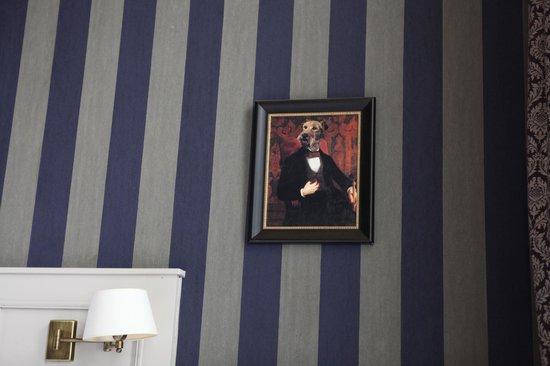 Hotel Patritius: room decor