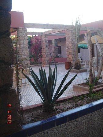 Hotel La Gazelle : jardin