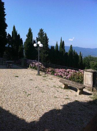 Villa Campestri Olive Oil Resort: Terasse
