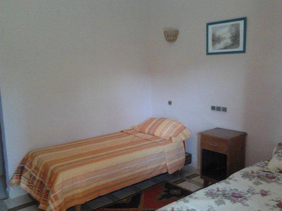 Hotel La Gazelle : chambre