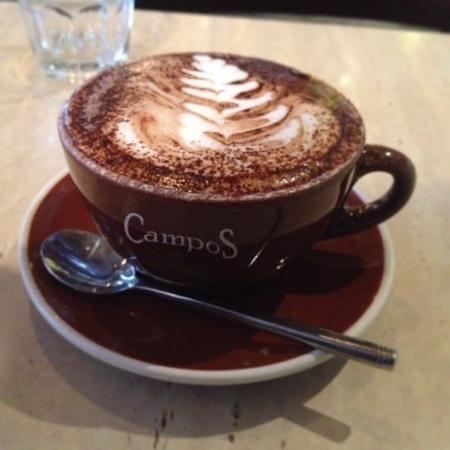 Tropicana Caffe: mocha