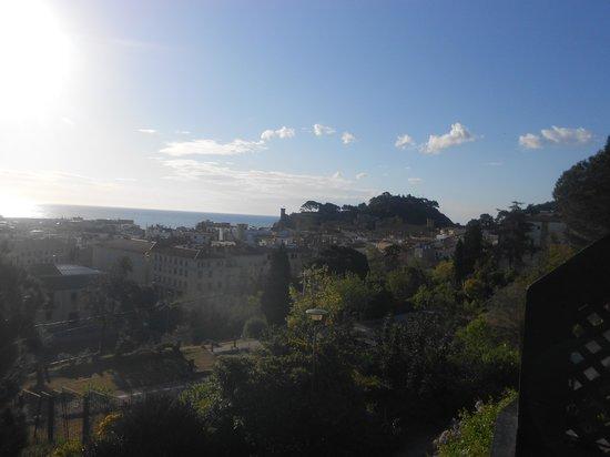 Apartamentos Pierre & Vacances Villa Romana: vue du balcon