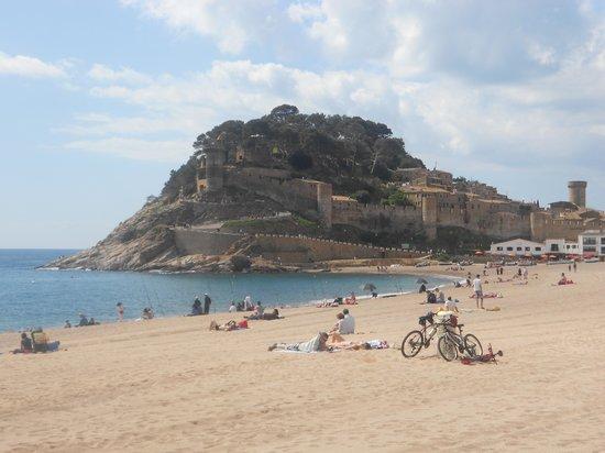 Apartamentos Pierre & Vacances Villa Romana: la plage de Tossa De Mar