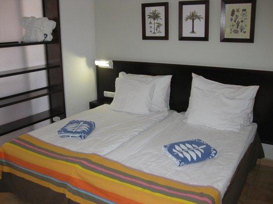 Sunwing Fanabe Beach: Dejlige senge.