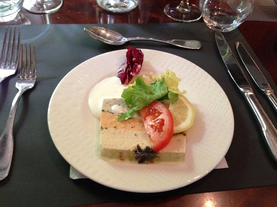 PARISCityVISION: First course of included lunch