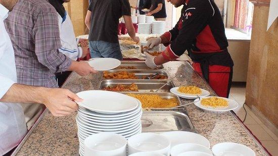 Ihlara Termal Tatil Koyu : open buffet