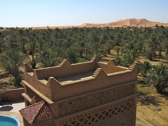 Riad Nezha: View from the roof