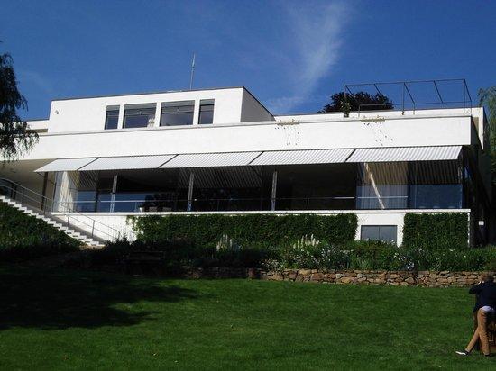 External view of Villa Tugendhat