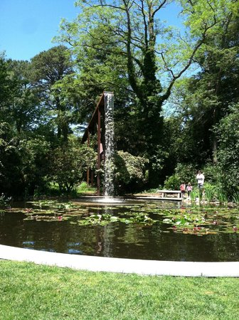 Heritage Museums U0026 Gardens: Waterfall