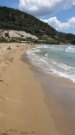 sandy beaches all round