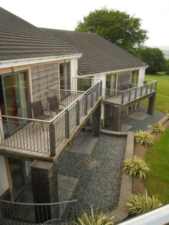 Bryn Meadows Golf, Hotel & Spa: rooms with balcony