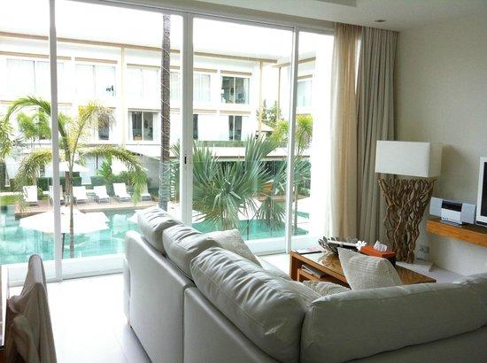 Lanna Samui: Living area