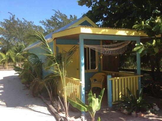 Colinda Cabanas: Outside the new small cabana